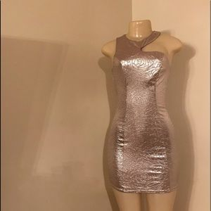 Guess light gold dress